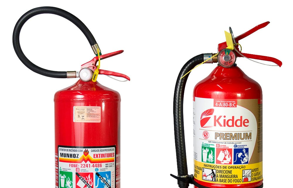 Como escolher o extintor de incêndio mais adequado