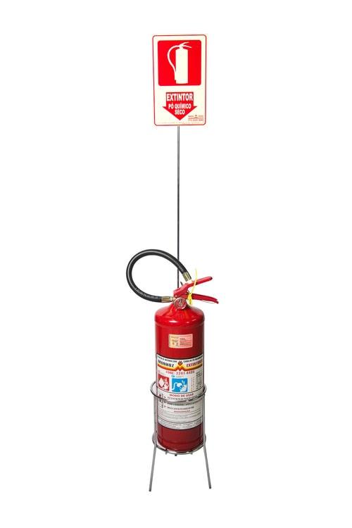 suporte para extintores Munhoz