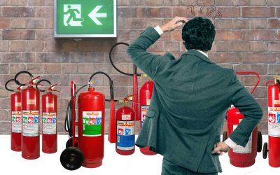 O ABC do extintor – As classes de fogo ABC.. DEFK?