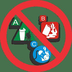 Quando é proibido extintores classe ABC, Munhoz Extintores